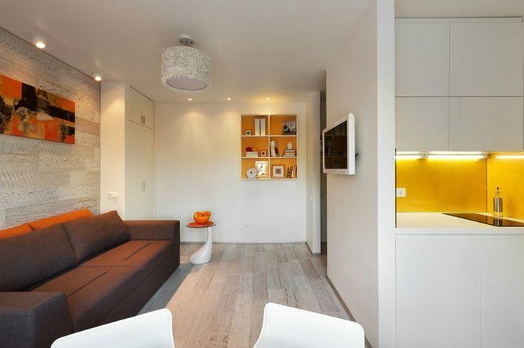 Ну очень маленькая квартира в Киеве (22 кв м) http://on.fb.me/1f82rvD Компактность и функциональность здесь вышли на первый план