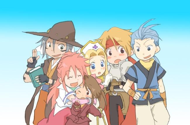 Tales of Phantasia group