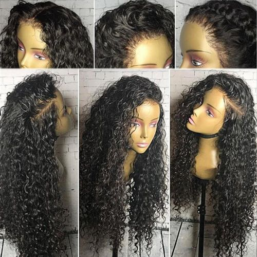 lace front remy hair wigs for black women brazilian remy hair full lace wig