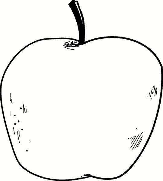 Pomme dessin noir et blanc recherche google pomme - Pommes dessin ...