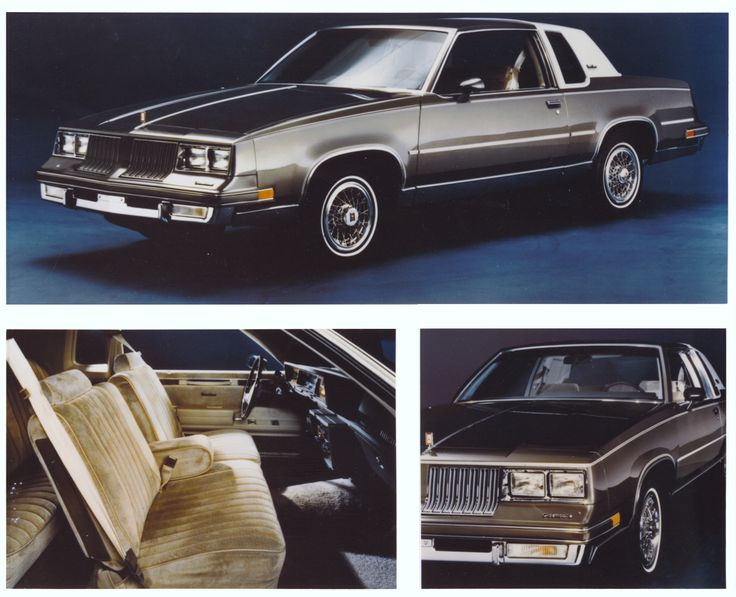 MIne was white, but this is it! 81 Cutlass Supreme, the first car I bought.