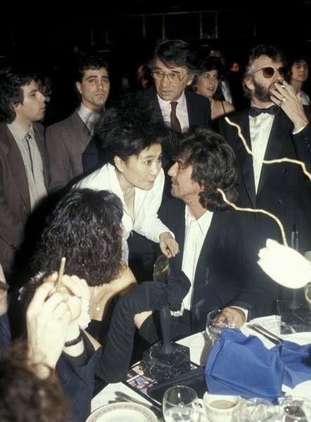 Ringo, George and Yoko