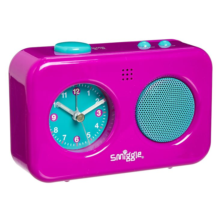 smiggle silicone rainbow talking clock instructions