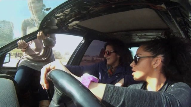 Speed Sister Trailer (in Production) on Vimeo.  Speed Sisters, a documentary on  Palestinian female racing drivers and drifters.