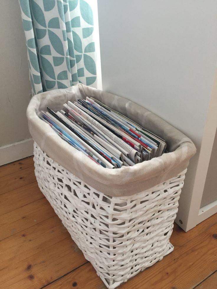 Recyclez vos journaux en vous faisant un panier en papier journal                                                                                                                                                                                 Plus