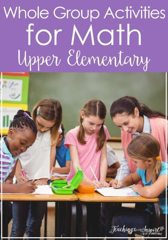 Whole Group Instruction And Activities For Math Top Primary