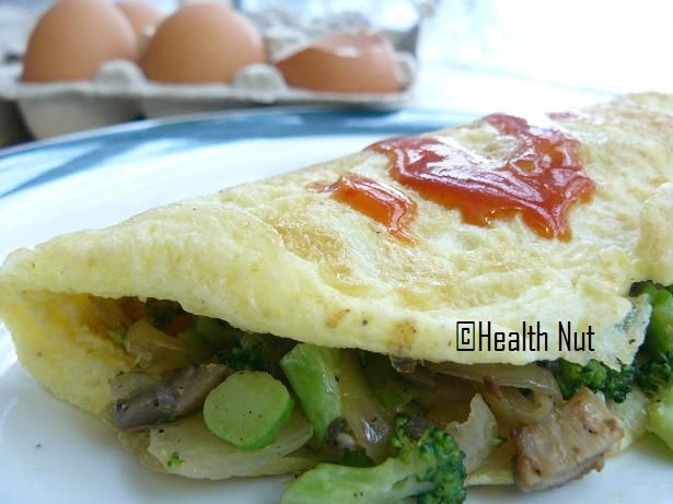 Yasmeen Health Nut: Omelet with Broccoli and Mushrooms,Sample Pregnancy Meal Plan