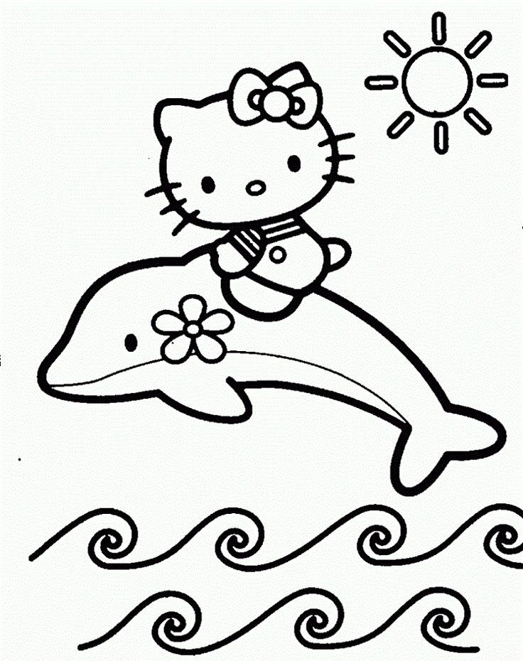 Free Coloring Pages For Kids Hello Kitty Coloring Kitty Coloring Hello Kitty Colouring Pages