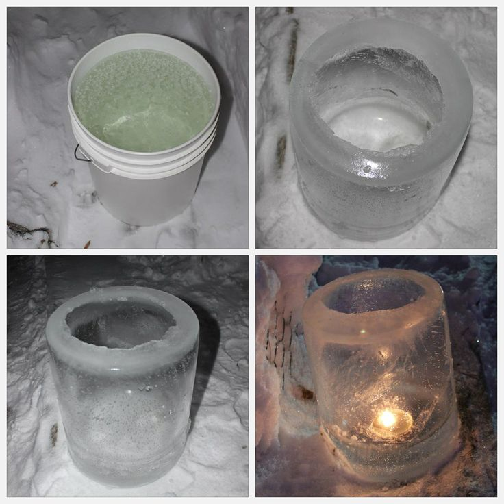 December 29, 2013. Ice Lantern - made using a 5 gallon bucket. Took about 7 hours. Temperature outside was aprx -25°C. #icecandle #icelantern #winnipeg #winter