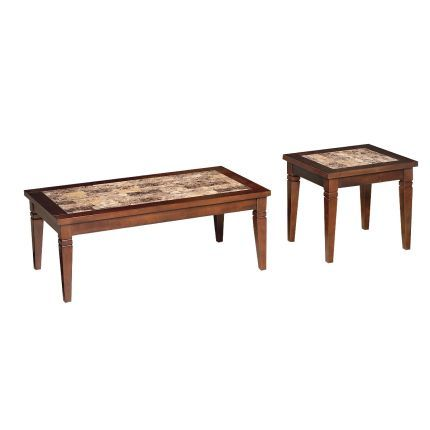 This Wood Marble 3 Piece Coffee Table Set From RC Willey Includes A And Two End Tables Superbly Crafted Group Features