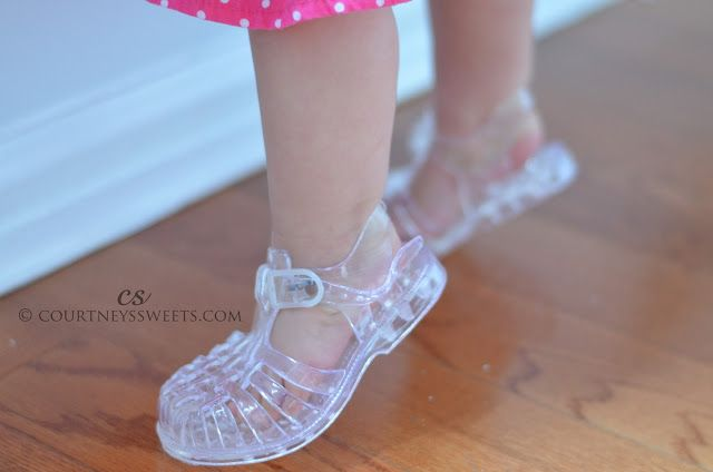 Product - Wee Kids Baby-Girls Sandals Jelly Shoes Infant Shoes Baby Shoes Girls Summer Sandals Champagne Gold Sz Product Image. Price $ DPN Shoes DWS Lady Crystal Jelly Sandals (6 B(M)US, Black) See Details. Product - Soho Shoes Women's Metallic Accessory Jelly Sandals. Product Image. Price $