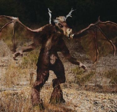 The Jersey Devil...The Jersey Devil is a legendary creature or cryptid said to inhabit the Pine Barrens of Southern New Jersey, United States. The creature is often described as a flying biped with hooves, but there are many different variations. The Jersey Devil has worked its way into the pop culture of the area, even lending its name to New Jersey's team in the National Hockey League.