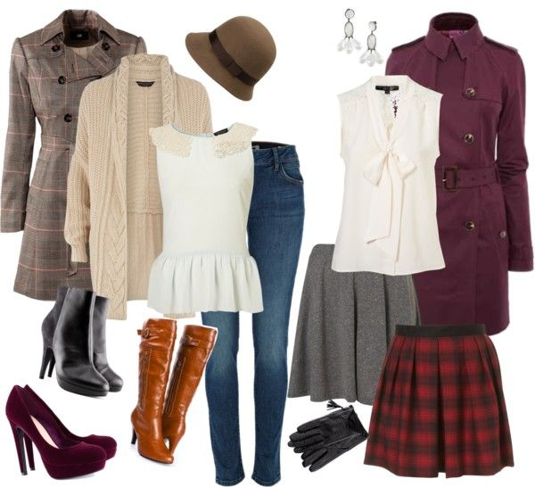 Duchess Roz also posted this in British clothing and I love the two blouses and the boots!!! :)