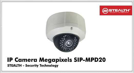 IP Camera Megapixels SIP-MPD20