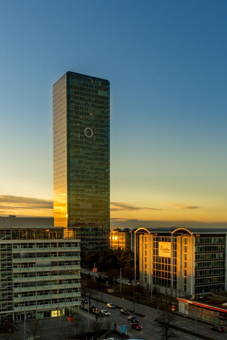O2 Tower Munich Germany By Hubert Zegota