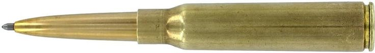 Fisher Specialized - 338 Genuine .338 Caliber LAPUA Mag Brass Cartridge Pen