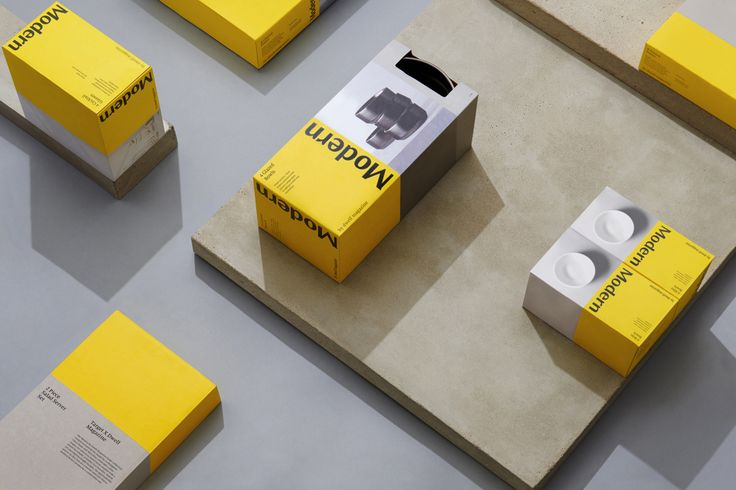 Modern by Dwell Magazine by Collins, United States. #branding #packaging