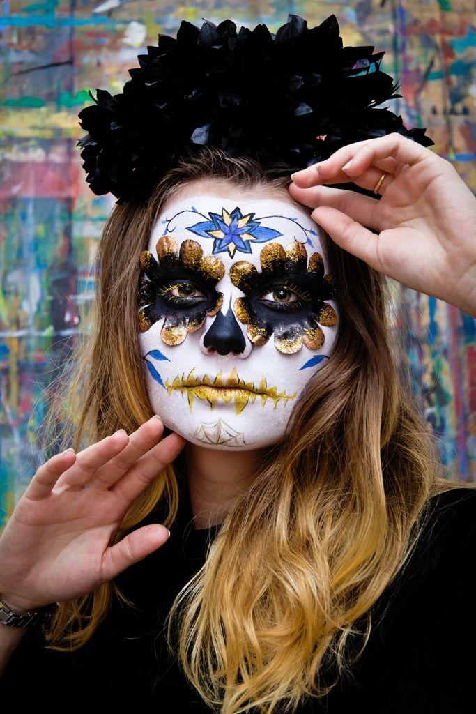 #Sugarskull - warsztaty charakteryzacji / Make-up: Anna Leśkiewicz / Fot.: Anita Kot / Szkoła Wizażu i Charakteryzacji SWiCH  #wizaż #makijaż #szkolawizazu #SWiCH #akademia_SWiCH