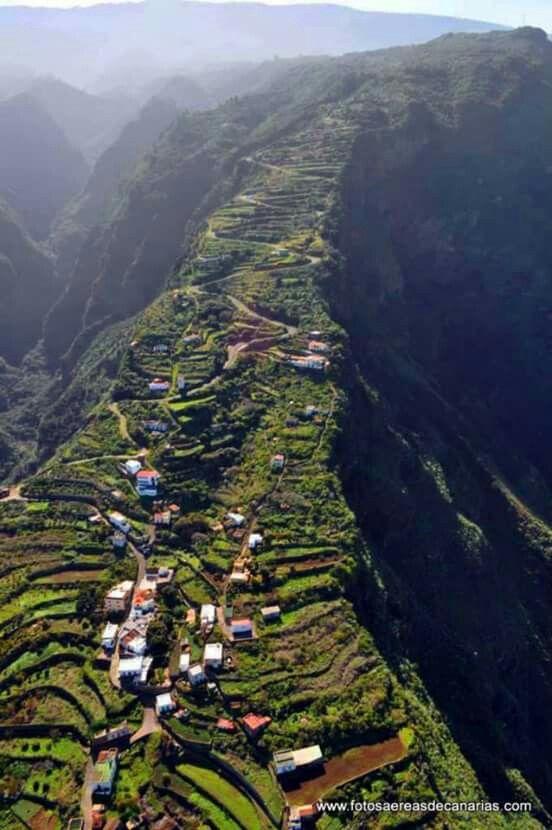 El Tablado, villa de Garafía. Canarias.