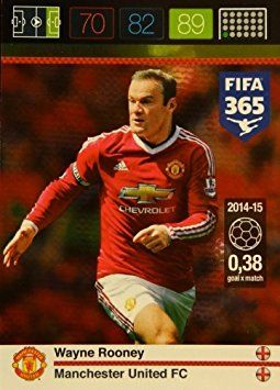 Panini Adrenalyn XL FIFA 365 Rooney Goal Machine Card