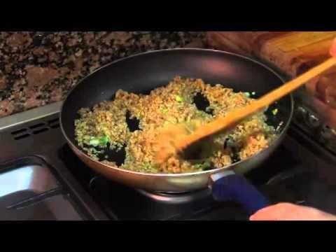 TIP Guarnición fácil con tres ingredientes puerro, trigo burgol fino y arvejas