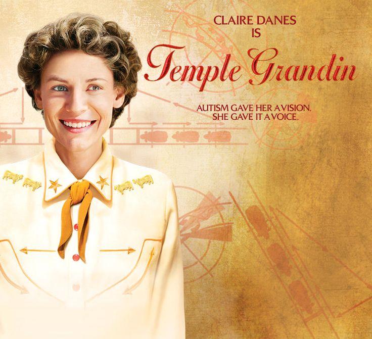 Claire Danes as Temple Grandin