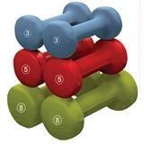 Neoprene-Coated Dumbbell Set, 32-lbs | Canadian Tire