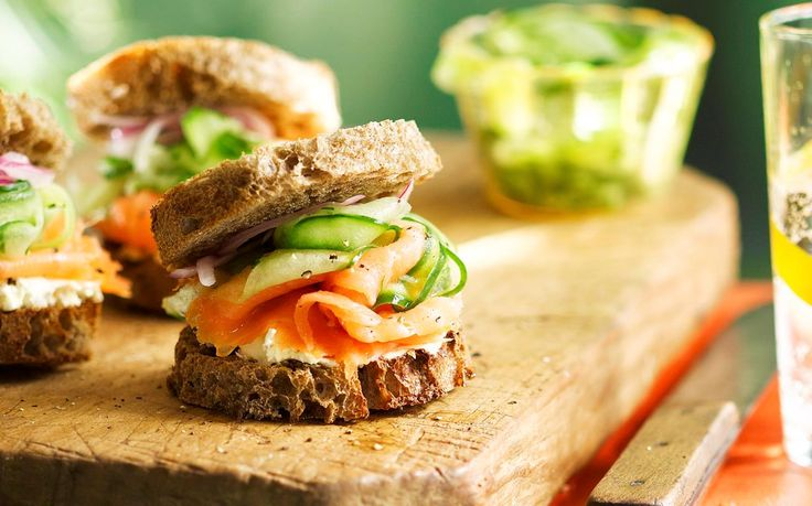 This simple recipe gives a gourmet edge to the classic toasty. With silky smoked salmon, cream cheese and crunchy rye bread you'll breathe new life into a lunch time staple. Recipe by the Australian Women's Weekly.