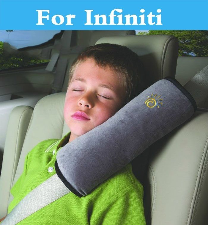Car Pillow Auto Baby Child Safetybelt Shoulder Protection For Infiniti Q70 QX QX50 QX60 QX70 QX80 EX FX G JX M Q Q30 Q40 Q50 Q60