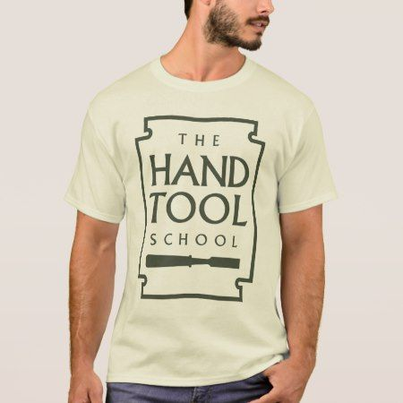 Simple Hand Tool School T-Shirt - tap, personalize, buy right now!