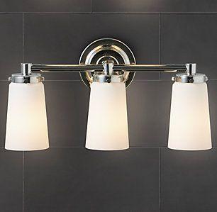 23 best master bathroom images on pinterest bathrooms master bathroom and master bathrooms Bathroom light fixtures chicago