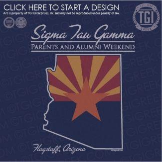 Sigma Tau Gamma | ΣTΓ | Parents and Alumni Weekend | PR | TGI Greek | Greek Apparel | Custom Apparel | Fraternity Tee Shirts | Fraternity T-shirts | Custom T-Shirts