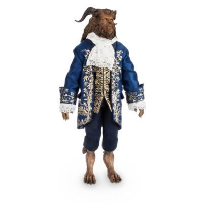 Turn the playroom into an enchanted castle starring this impressive Beast doll. With exceptional character likeness from live-action film, Beauty and the Beast, the posable doll also wears a highly detailed outfit.