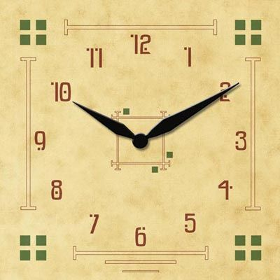 Pin by ClockPrints .com on Arts & Crafts Clock Faces | Pinterest