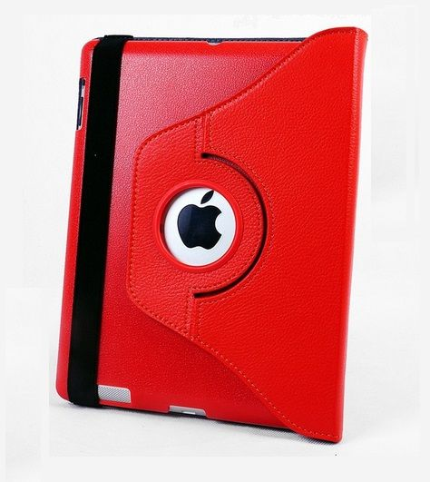 OEM Περιστρεφόμενη 360 μοίρες Θήκη Case stand - Κόκκινο (iPad mini / mini Retina / mini 3) - myThiki.gr - Θήκες Κινητών-Αξεσουάρ για Smartphones και Tablets - Χρώμα κόκκινο