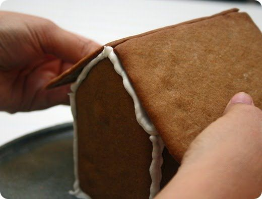 Gingerbread house dough recipe and royal icing recipe. I have used these recipes for the past 3 years and couldn't have been more pleased! Plus she has G.B house templates for those of us that don't have the cookie cutters.