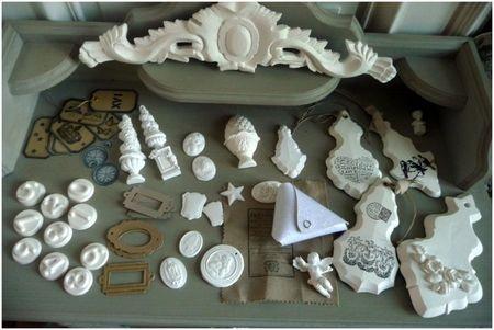 Plâtres et céramiques   chez