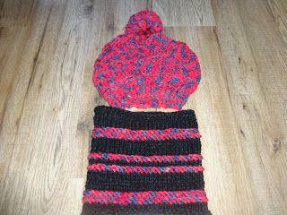 Ručné práce háčikom, ihlicami s láskou: Pletená čiapka a nákrčník