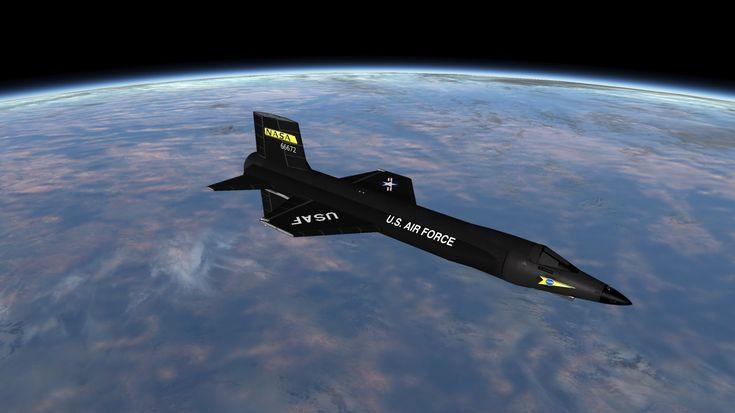 Kerbal Space Program - X-15 Space Plane - RSS