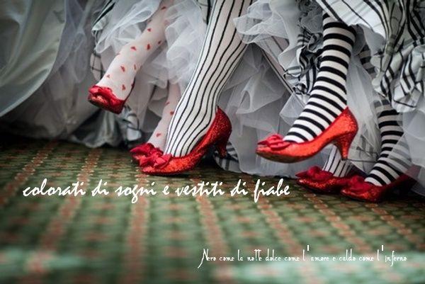 Nero come la notte dolce come l'amore caldo come l'inferno: Colorati di sogni e vestiti di fiabe. L.B.©