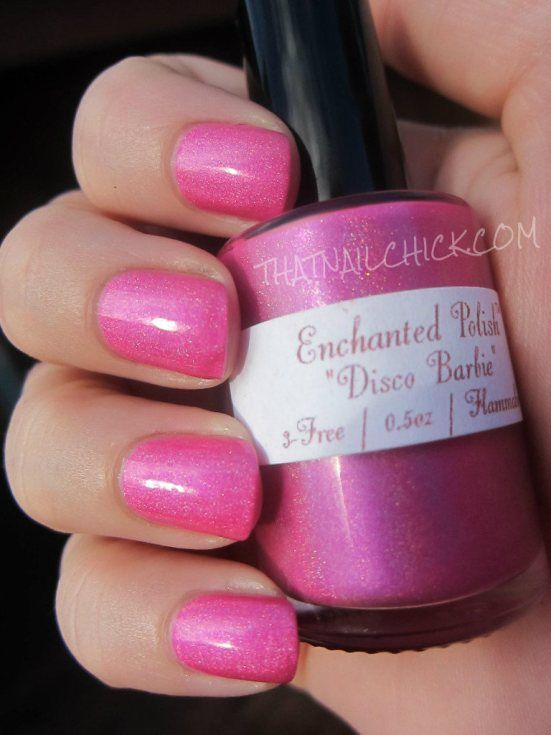 Disco Barbie by Enchanted Polish