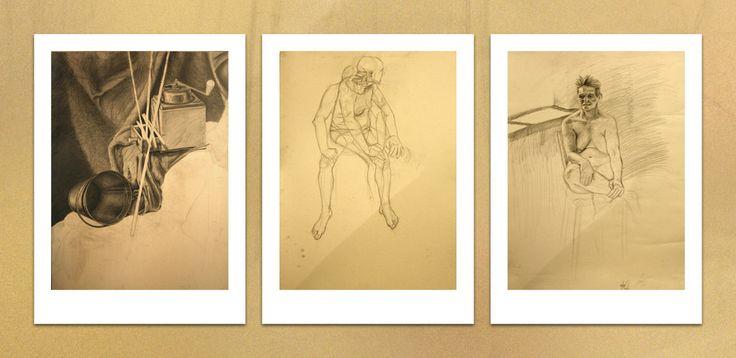 Trinity #men #pencil #people #pencildrawing #stilllife #woman #academic #art