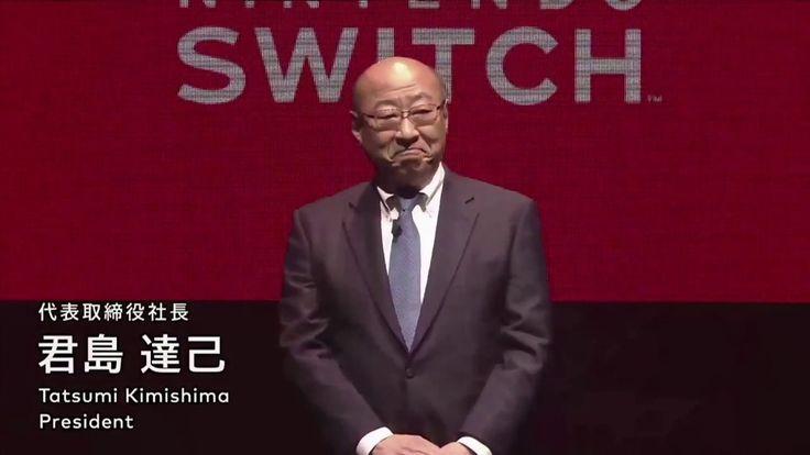 Reaction Video Tatsumi Kimishima Talk about Nintendo Switch Launch Date ...