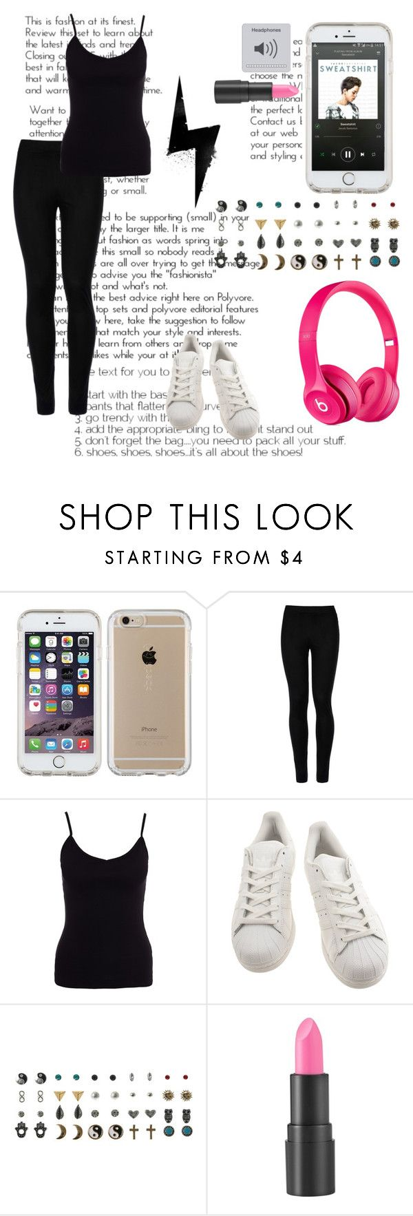 """""""Listening To Swaetshirt {Jacob Sartorius-Sweatshirt New Album Out!}"""" by donttouchmydrumset ❤ liked on Polyvore featuring Speck, Wolford, New Look, adidas, too cool for school and Beats by Dr. Dre"""
