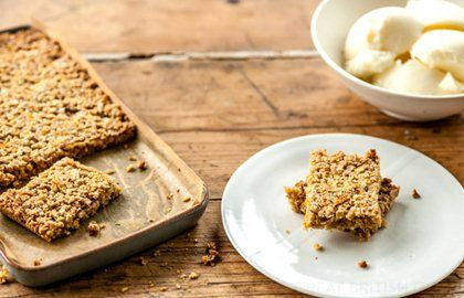 Simple Flapjack Recipe - Kids Recipes - Great British Chefs