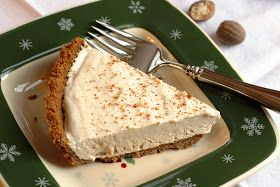 Saving room for dessert: No. 51 - Egg Nog Pie with a Ginger Snap Crust