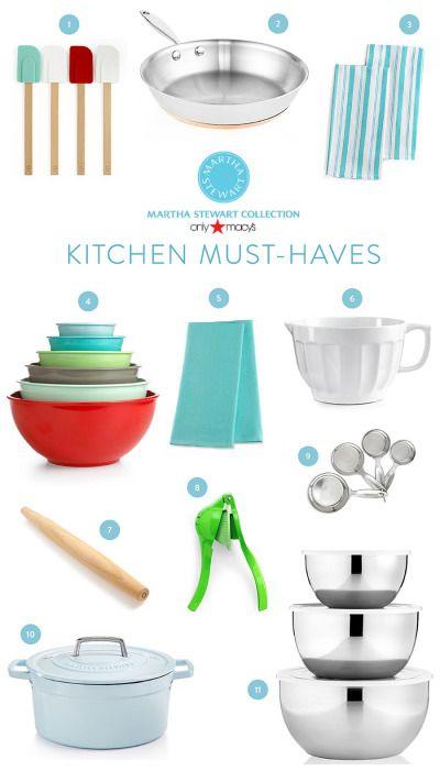 Kitchen Must Haves With Martha Stewart Collection + Macyu0027s