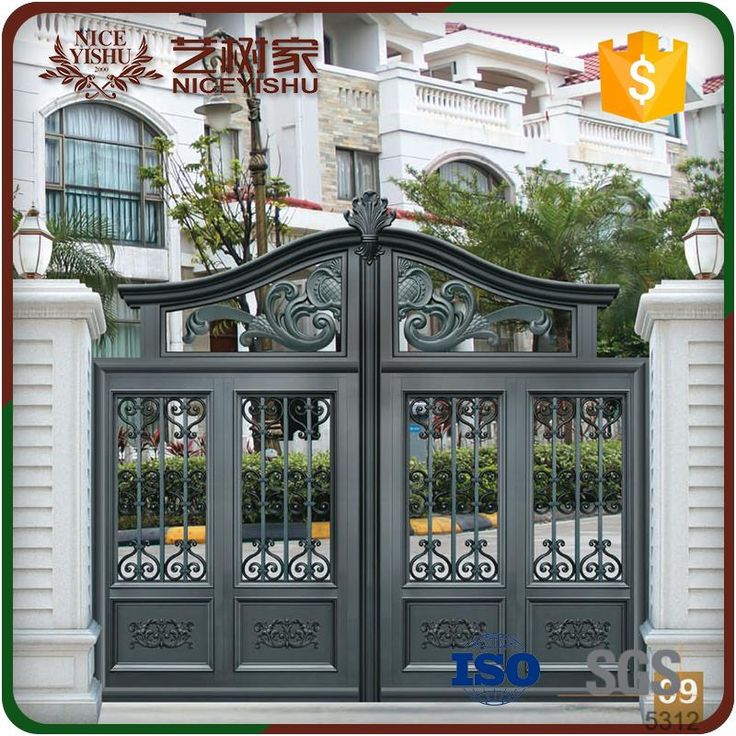 17 Elegant Gates To Transform Your Yard Into Inviting Place: 2019 的 Image Result For Iron Entrance Gates Designs