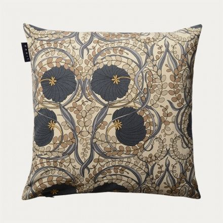 Nouveau Cushion Cover – Dark Charcoal Grey | Outlet - Living | Linum
