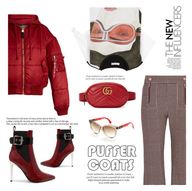"""Puffer Coats: Vetements x Gucci x Rag & Bone x J.W. Anderson x See by Chloe"" by mariluz-garcia ❤ liked on Polyvore featuring See by Chloé, Gucci, rag & bone, J.W. Anderson, Vetements and Fendi"